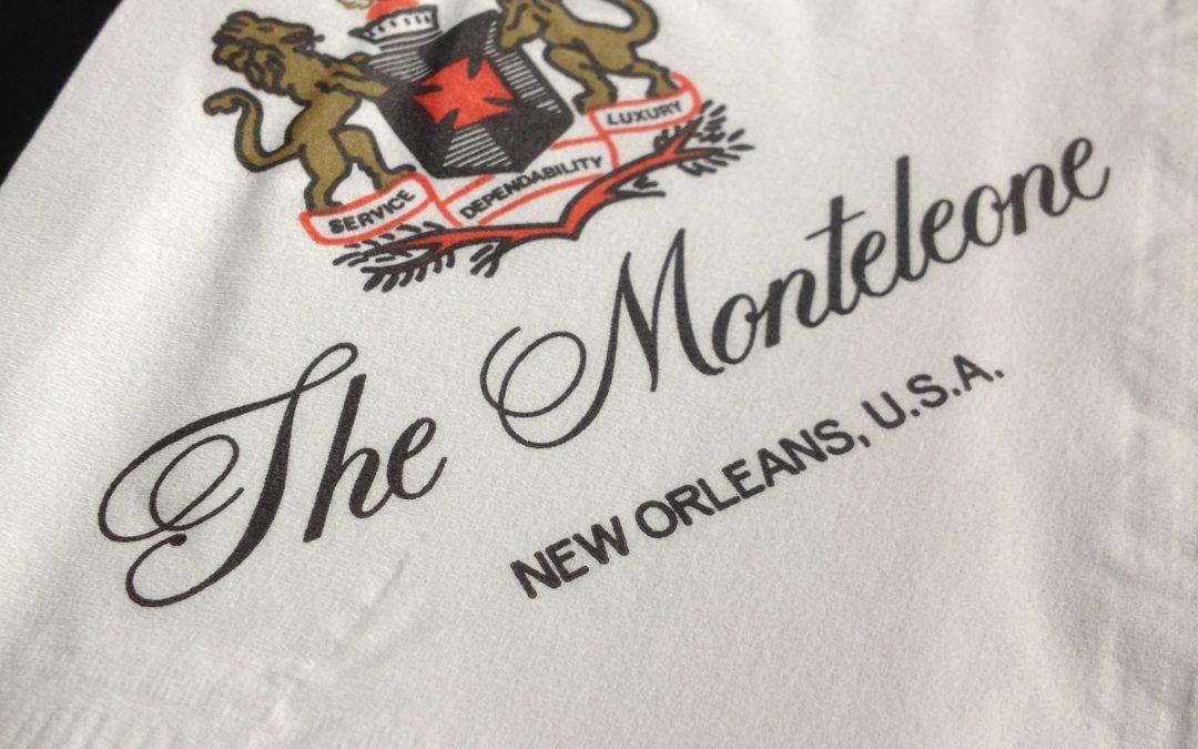So Good: Hotel Monteleone