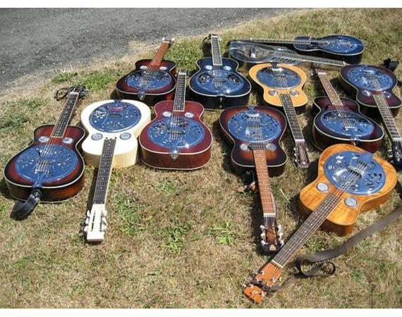 Cool Guitars: Resonators