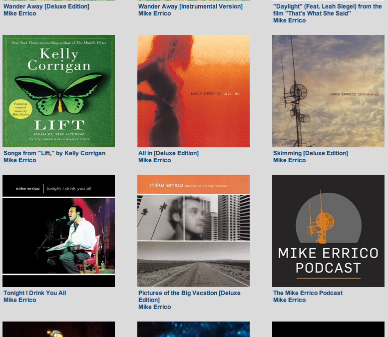 New, Deluxe Editions of the Mike Errico Catalog. Pay What You Want.
