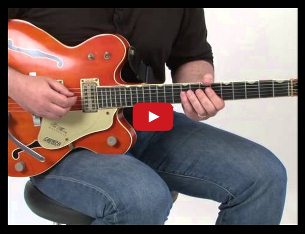 Mike Errico Guitar Lesson: Diminished Blues Run