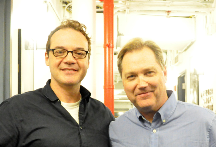 Mike Errico and Steve Wariner