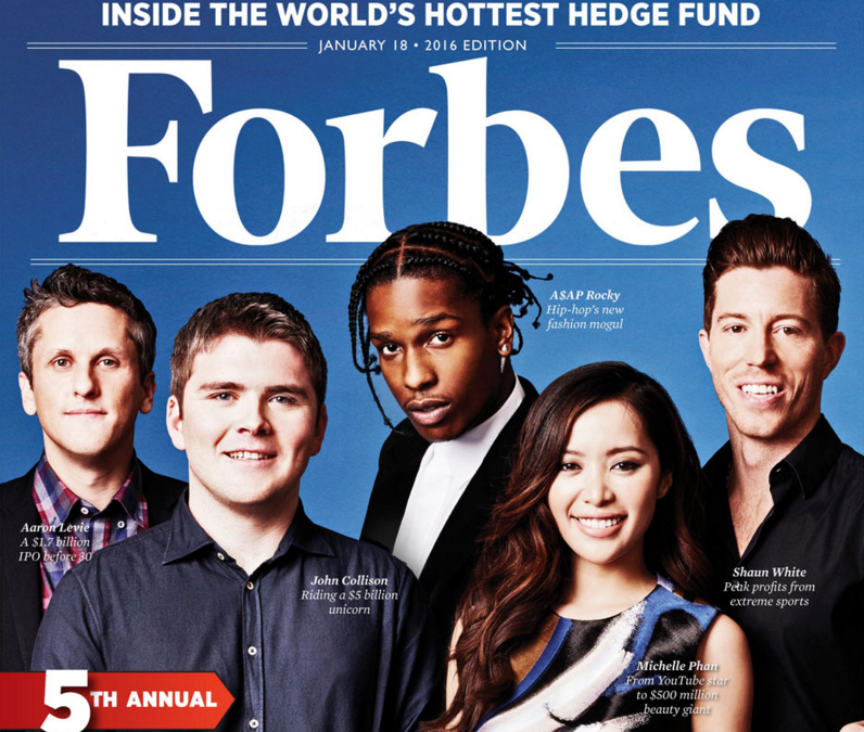 Mike Errico in Forbes