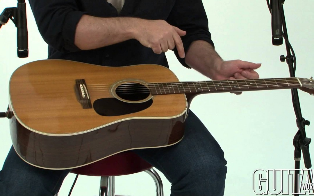April Issue of Guitar World: Mike Errico on Percussive Acoustic Guitar Playing